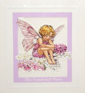 Cicely Mary Barker THE CANDYLUFT FAIRY Flower Fairies HAPPY BIRTHDAY