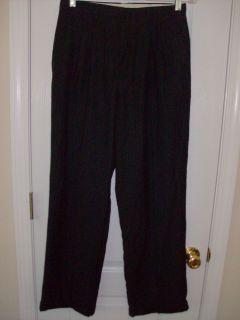 Class Club Black Pin Stripe Dress Pants Boys Size 16