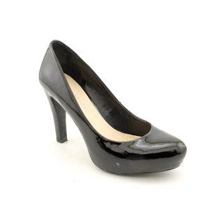 Franco Sarto Cicero Womens Size 7 Black Patent Leather Platforms Shoes