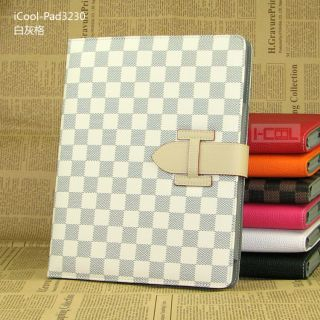 Belt Stand Smart Leather Case Cover for New iPad 3 iPad 2
