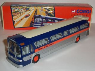 LIONEL CITY TRANSIT GM5301 NEW YORK FISHBOWL DIECAST MODEL BUS COACH