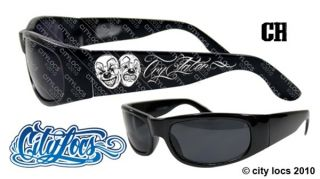 SMILE NOW CRY LATER SHADES CITY LOCS SUNGLASSES CHOLO CHICANO RAP NWT