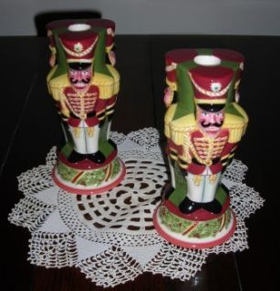 Christopher Radko Christophers Tree Christmas Nutcracker Candle