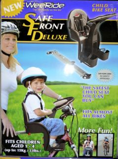 New Weeride Safe Front Deluxe Child Bike Seat Childrens Bicycle Seat