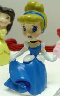 Disney Princess Birthday Cake Topper w Cinderella, Snow White, Aurora