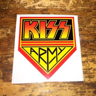 Kiss Army Decals Stickers Gene Simmons Paul Stanley