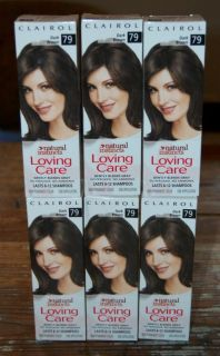 Clairol Loving Care DARK BROWN Haircolor #79, Discontinued & VHTF