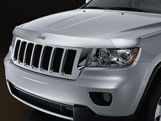 Jeep Grand Cherokee 2011 2012 Chrome Bug Deflector Mopar OEM