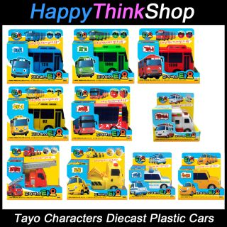 The Little Bus Tayo Friends Main Diecast Plastic Cars Choose Model You