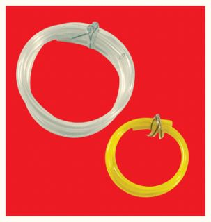 Gas Fuel Line Hose 1 16 Clear 3 32 Yellow Line Twin Pack Chainsaw