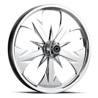 Chip FOOSE Custom 26 Wheel Chrome Rim Set for Harley