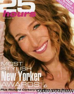 Sarah Jessica Parker Page Six Magazine Chloe Sevigny