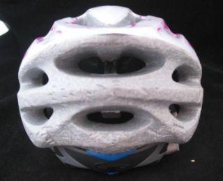 Ciro White Pink Girls Small Medium 50 57cm Adjusting Bike Helmet