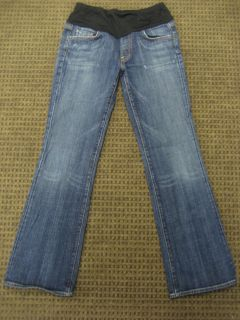 Citizens of Humanity Maternity Jeans Kelly Bootcut Pacific Size 31