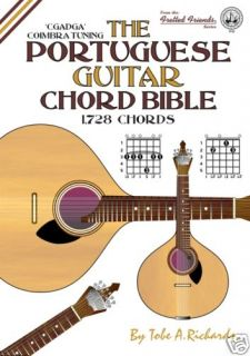 PORTUGUESE GUITAR CHORD BIBLE 1 728 CHORDS NEW