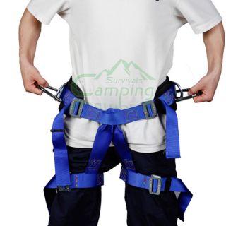 Exploration Rock Climbing Seat Harness Polyester 300lb