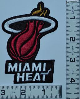 Basketball Team Logo Patch Lebron James Dwyane Wade Chris Bosh