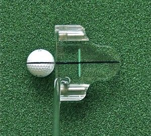 Clearview Dual Line Mallet 35 inch Putter w HC Weights