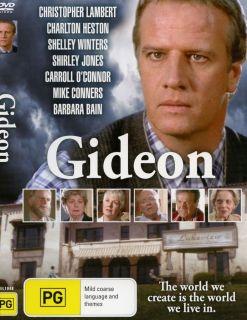 GIDEON dvd CHRISTOPHER LAMBERT Charlton Heston SHIRLEY JONES Shelly