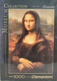 Mona Lisa 1000 Piece High Quality Clementoni Italian Jigsaw Puzzle New