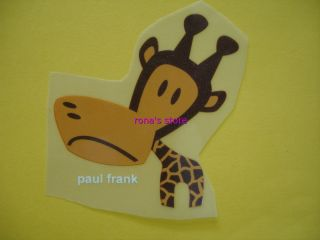 Clancy Paul Frank Julius Giraffe Iron on Heat Transfer Patch Motif