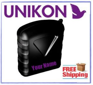 Unikon Pocket Clock Name Decal Racing Pigeon ETS Clock Racing Pigeon