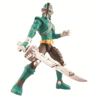 POWER RANGERS  Samurai Green Forest Mega Ranger 10cm Figure
