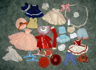 Vintage Doll Clothes Accessories—Small—Fit Betsy McCall Ginny Type