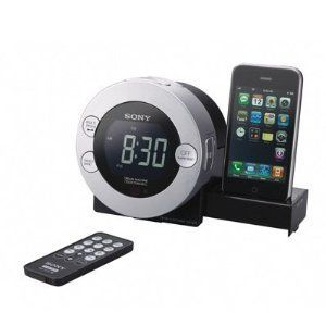 NEW SONY ICFC7IP Clock Radio for iPod & iPhone ICF C7iP Dream Machine