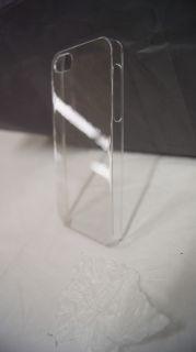 New Crystal Clear Transparent Hard Plastic Back Cover Slim Case Apple