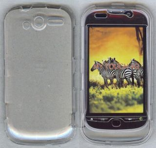 Clear Hard Plastic Case Cover T Mobile HTC myTouch 4G My Touch LCD