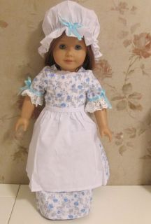 6pc Pastoral Skirt Doll Clothes Outfit for 18 American Girl New