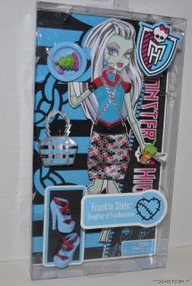 New Monster High Doll Clothes Frankie Stein Fashion Outfit