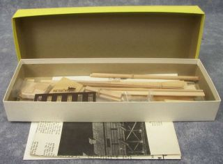 NIB Fine Scale Miniatures/FSM #60 COALING STATION RAMP Building Kit HO