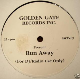 Linda Clifford Run Away Golden Gate Vinyl VG