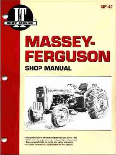 Massey Ferguson Tractor Shop Manual Models MF230 MF235 MF240 MF245