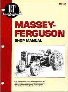 Massey Ferguson Tractor Shop Manual Models MF230 MF235 MF240 MF245