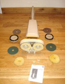 Hoover Floor Shampooer Polisher Scrubber Wood Wax F4002