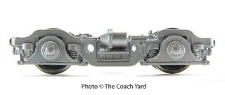 ASK ABOUT THE COMPLETE LINE OF COACH YARD PASSENGER CAR TRUCKS.