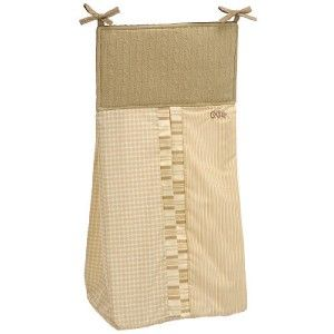 New Cocalo Snickerdoodle 6pc Baby Nursery Crib Bedding Set $200 Tan