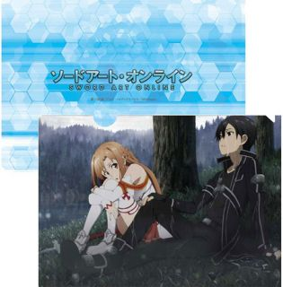 Sao Anime Manga Game Kirito Asuna Couple File Folder Clearfile