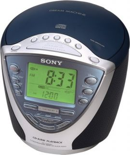 Sony Dream Machine ICF CD843V CD Clock Radio