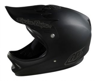 Troy Lee Designs D2 Composite   Midnight Black 2012