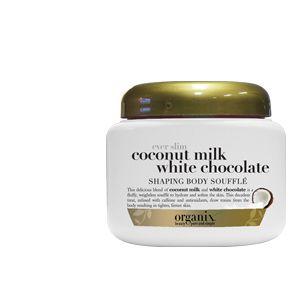 Organix Ever Slim Coconut Milk White Chocolate Shaping Body Souffle 8