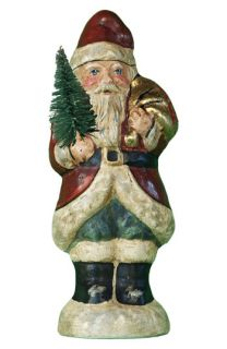 Vaillancourt Father Christmas with Gold Leaf Sack   Small Ornament ( Exclusive)