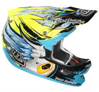 Troy Lee Designs D3 Composite   Speedwing Yellow 2012