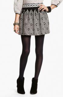 Free People Alexus Op Art Embroidered Skirt
