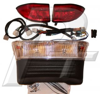 Club Car Precedent Golf Cart Headlight and Tail Light Kit Gas