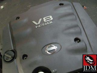 02 03 04 NISSAN CIMA 4 5L DOHC V8 NEO Di ENGINE TRANSMISSION JDM