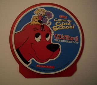 Fisher Price COMPUTER COOL SCHOOL Software   CLIFFORD The Big Red Dog